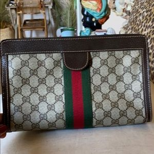 Authentic Gucci parfums 505 cosmetic bag
